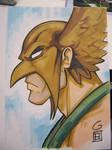 SDCC Sketch: Hawkman