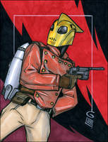 The Rocketeer by grantgoboom