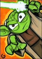 Go, Toony Yoda, Go by grantgoboom