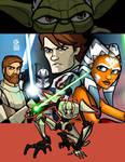 Clone Wars Collage