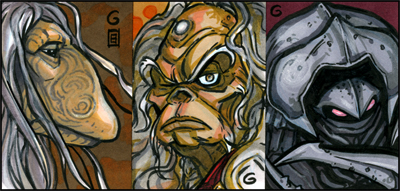 PSCs: Dark Crystal Characters by grantgoboom