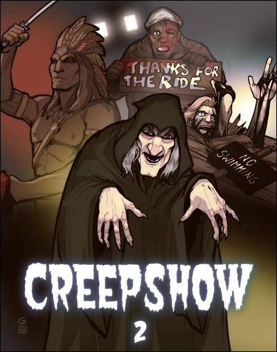 Creepshow 2 The Raft Creepshow 2 by Grantgoboom