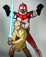 Clone Wars S2 Webcomic Cov1 by grantgoboom