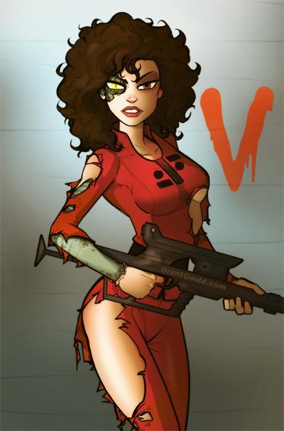 V: Diana by grantgoboom