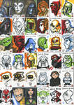 SWG5 Sketch Cards: Misc.