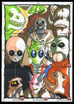 SWG5 Sketch Cards: 9-parter