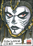 SWG5 Sketch Card: Sith Witch