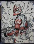 C2E2 Sketch: Clone Trooper