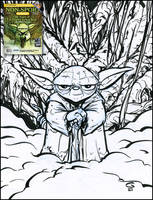 Yoda NSU Cover Original by grantgoboom