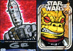 SWFD Sketches: IG88 and Bossk