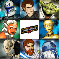 SWCV Badges: Clone Wars by grantgoboom