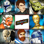SWCV Badges: Clone Wars