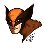 DRAWING VIDEO: Wolverine by grantgoboom