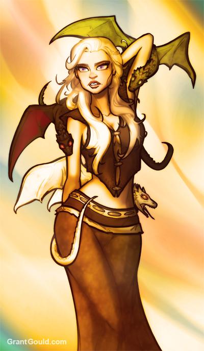 Daenerys Stormborn by grantgoboom