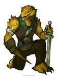 RPG Art: Errich the Dragonborn