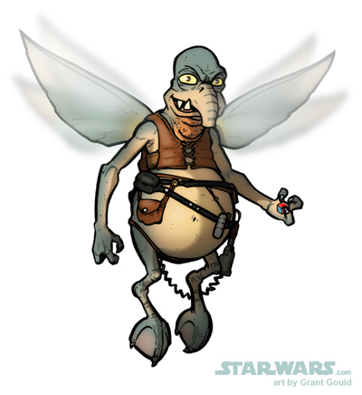 DRAW WATTO by grantgoboom