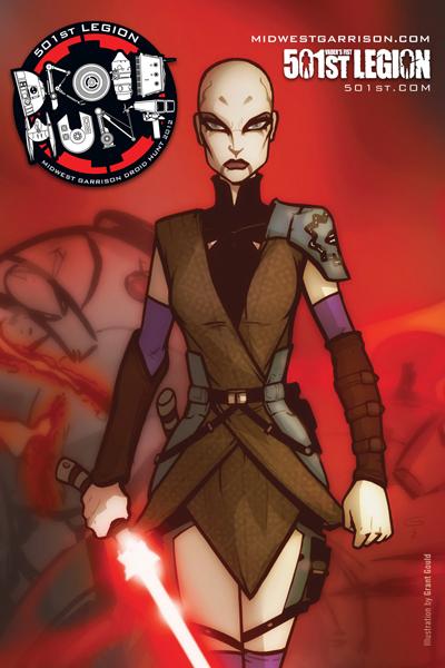 ASAJJ VENTRESS 501st Droid Hunt badge art by grantgoboom