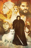 GAME OF THRONES street poster by grantgoboom