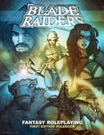 BLADE RAIDERS rulebook cover art