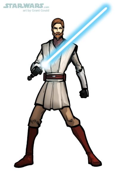 Star Wars Obi Wan Kenobi Clone Wars Star Wars Clone Wars Clip Obi