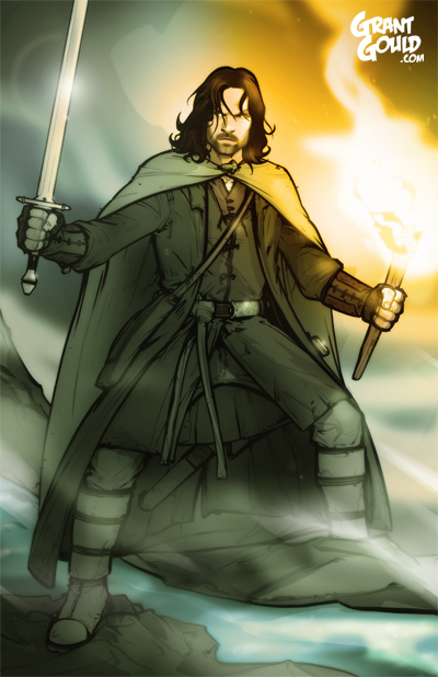 Aragorn by grantgoboom