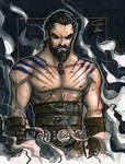 DRAWING VIDEO: Khal Drogo