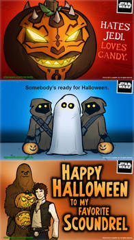 Star Wars Halloween eCards