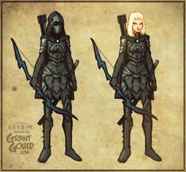 Nightingale of Skyrim by grantgoboom