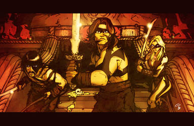 Conan the Barbarian by grantgoboom
