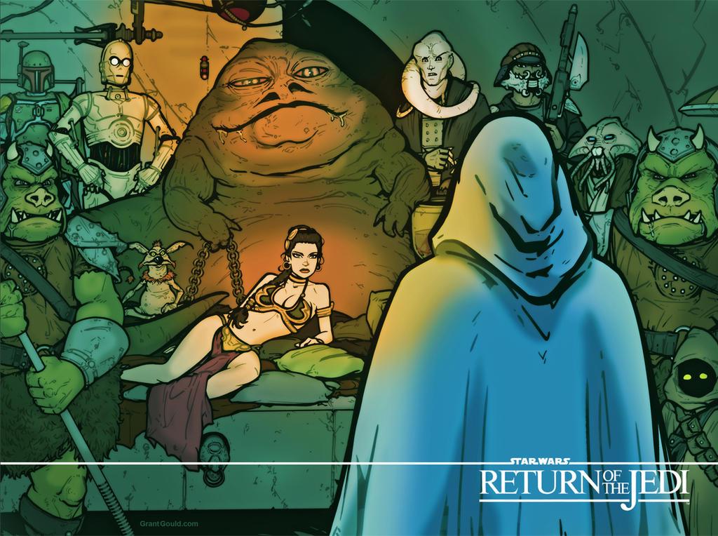 Return of the Jedi by grantgoboom