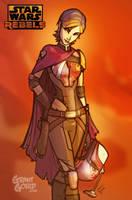 STAR WARS REBELS: Sabine by grantgoboom