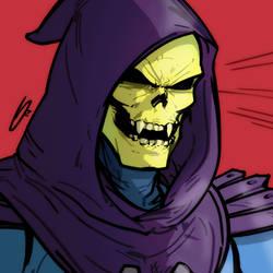 MOTU: Skeletor by grantgoboom