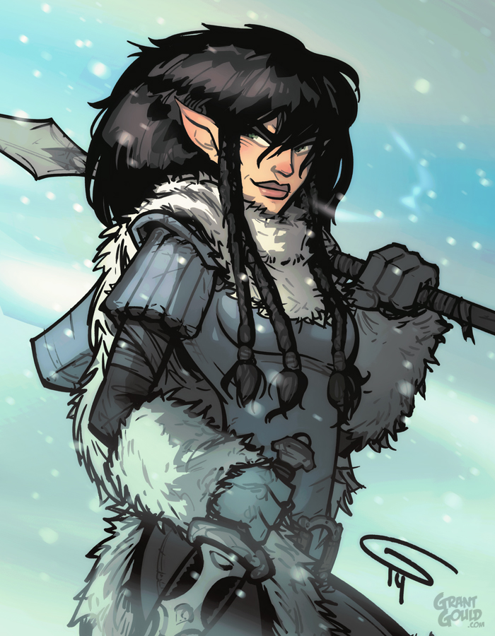 ELFQUEST Kahvi by grantgoboom