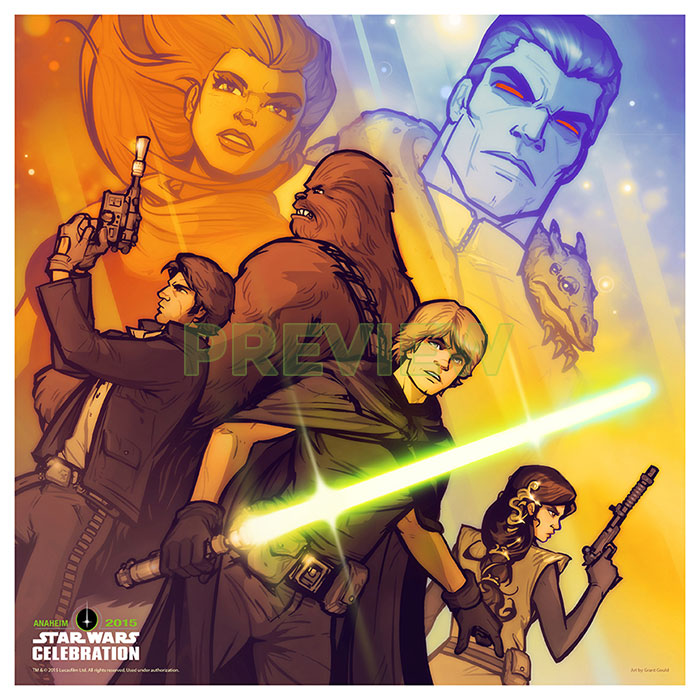Legend of Thrawn: Star Wars Celebration Preview by grantgoboom