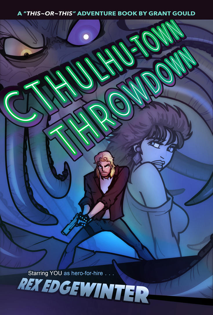 CTHULHU-TOWN THROWDOWN by grantgoboom