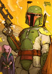 Star Wars Illustrated ESB: BOBA FETT