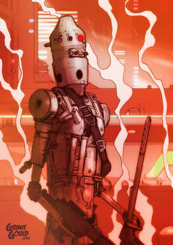 Star Wars Illustrated ESB: IG-88