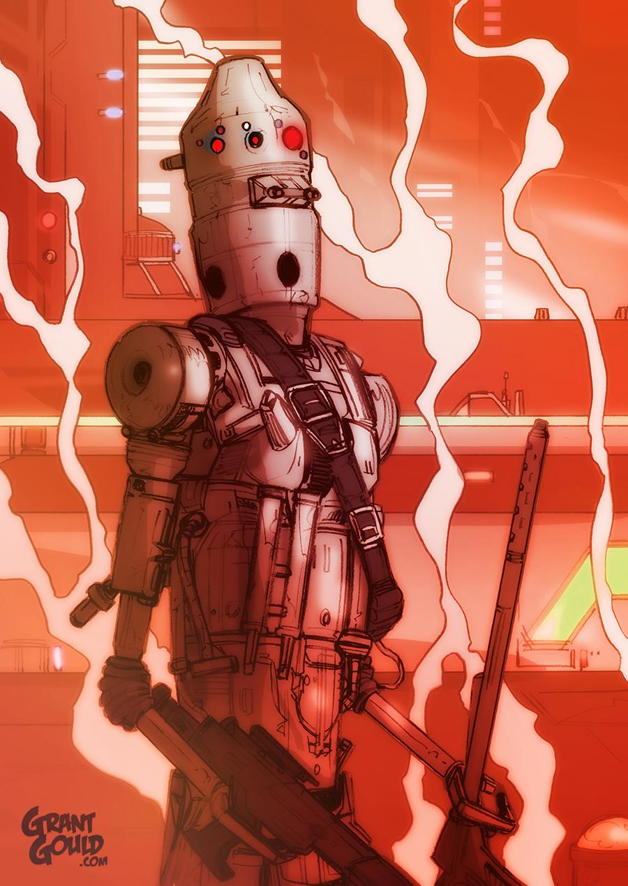 Star Wars Illustrated ESB: IG-88 by grantgoboom on DeviantArt