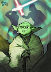 Star Wars Illustrated ESB: YODA by grantgoboom