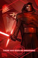 Kylo Ren: The Force Awakens by grantgoboom