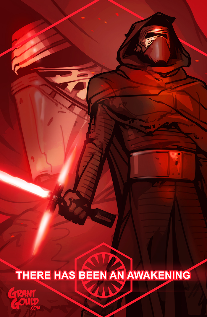 Kylo Ren: The Force Awakens by grantgoboom