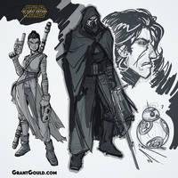 The Drawings Awaken by grantgoboom
