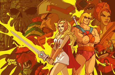 Masters of the Universe: Sibling Edition