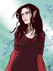 LOTR: Arwen by grantgoboom