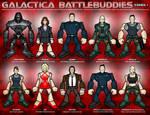 Galactica Battlebuddies Set 1