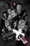 Battlestar Galactica Collage