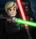 LEGO Lightsaber Duel