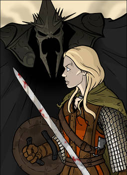 LOTR: Eowyn vs. the WitchKing
