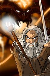 LOTR: Gandalf vs. the Balrog by grantgoboom