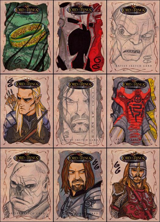 LOTR Evolution Cards by grantgoboom
